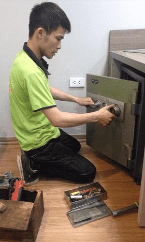 sửa khóa két sắt tại nhà