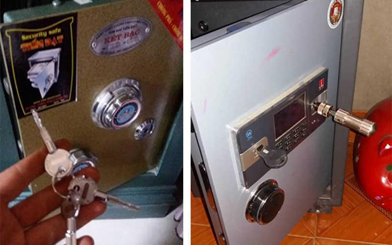 Mở khóa đánh chìa khóa két sắt
